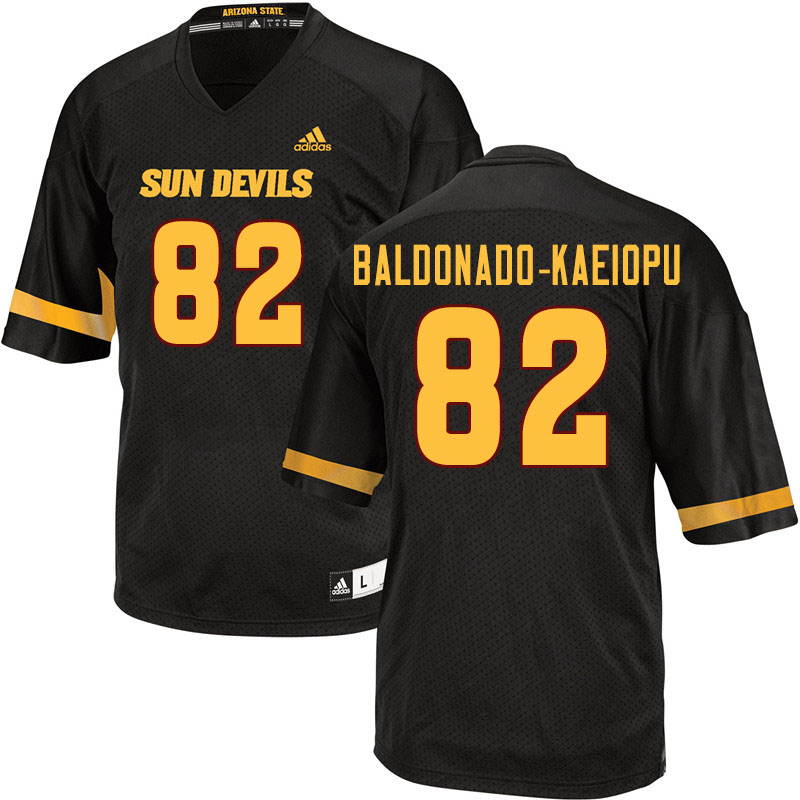 Men #82 Tyerell Baldonado-Kaeiopu Arizona State Sun Devils College Football Jerseys Sale-Black