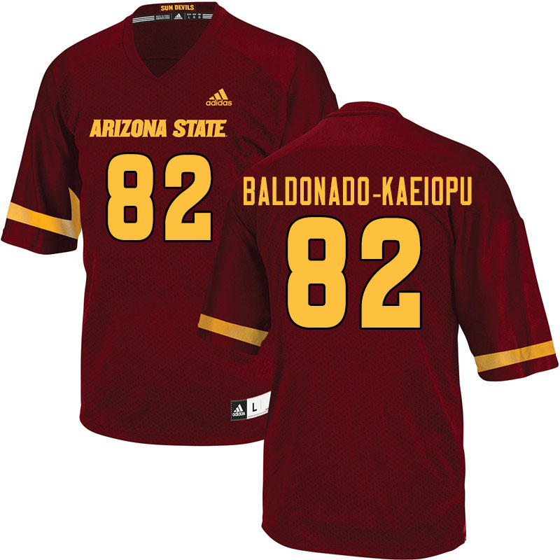 Men #82 Tyerell Baldonado-Kaeiopu Arizona State Sun Devils College Football Jerseys Sale-Maroon