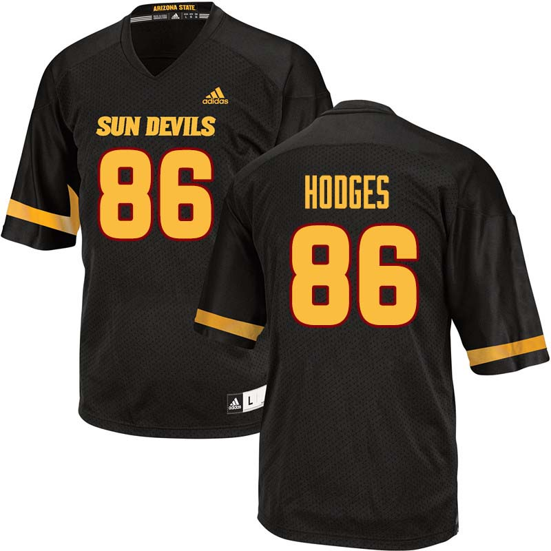 Men #86 Curtis Hodges Arizona State Sun Devils College Football Jerseys Sale-Black