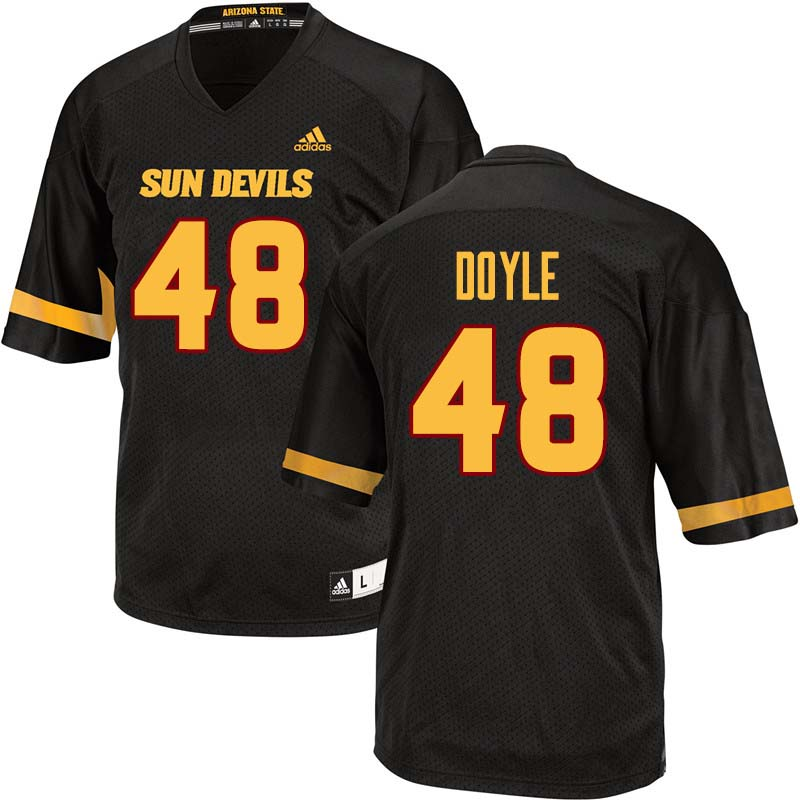 Men #48 Ely Doyle Arizona State Sun Devils College Football Jerseys Sale-Black