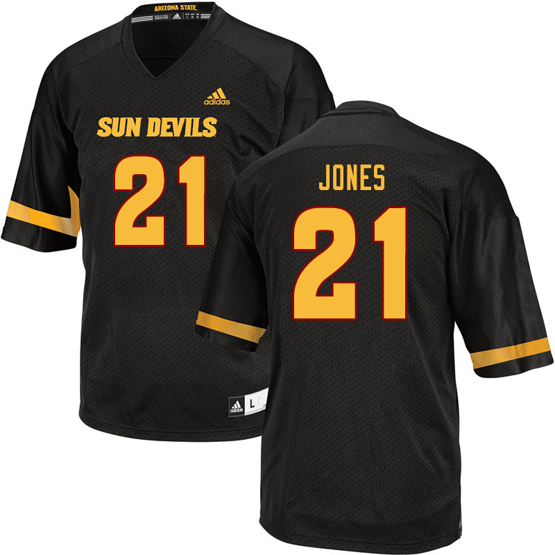 Men #21 Jack Jones Arizona State Sun Devils College Football Jerseys Sale-Black