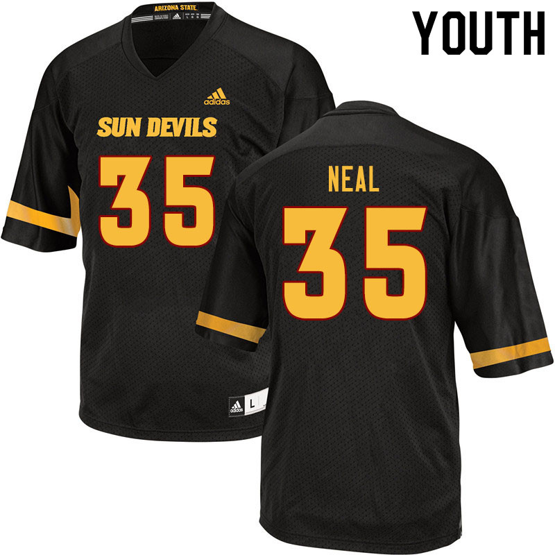 Youth #35 Devin Neal Arizona State Sun Devils College Football Jerseys Sale-Black